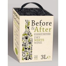 Вино Before and After White 3L