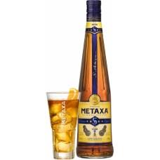 МЕТАКСА 5 ЗВЕЗДИ  0,7л